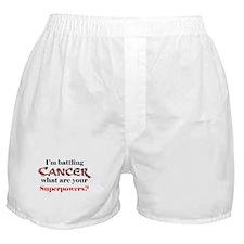 I'm battling Cancer Boxer Shorts