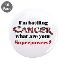 "I'm battling Cancer 3.5"" Button (10 pack)"