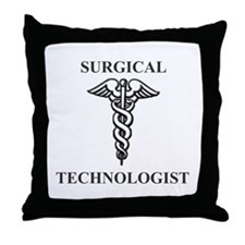 ST Caducus Throw Pillow