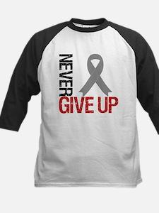 NeverGiveUp Brain Cancer Tee