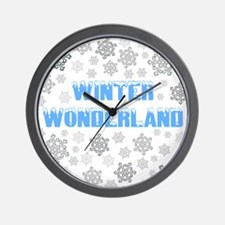 Cute Blizzard Wall Clock