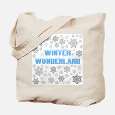 Cute Blizzard Tote Bag