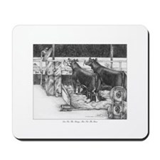 One for the money Mousepad