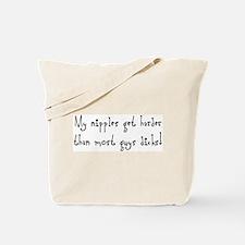 Hard Nipples Tote Bag