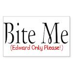 Bite Me Rectangle Sticker 10 pk)
