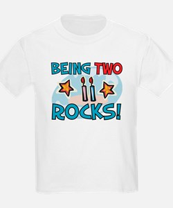 BEING TWO ROCKS! T-Shirt