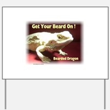 Get your beard on! Yard Sign