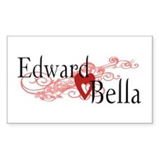 Edward and Bella Rectangle Decal