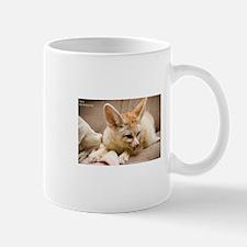 Flash the fennec fox licking Mug