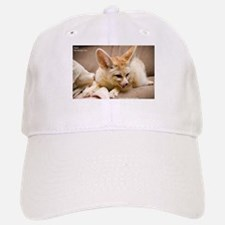 Flash the fennec fox licking Baseball Baseball Cap