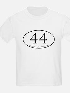 Barack Obama, 44th President T-Shirt