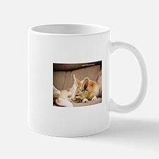 Flash the fennec fox snoozing Mug