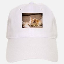 Flash the fennec fox snoozing Baseball Baseball Cap