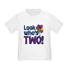 LOOK WHO'S TWO! T