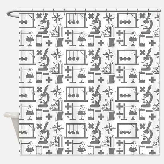 Cute Chemistry Shower Curtain