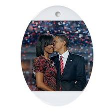 Oval Ornament President Barack Obama
