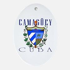 Camaguey Oval Ornament