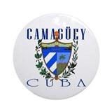 Camaguey Round Ornaments