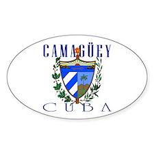 Camaguey Oval Decal