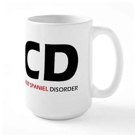 Clumber Spaniel Disorder Large Mug