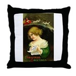 Christmas Hopes Throw Pillow
