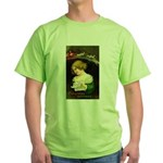 Christmas Hopes Green T-Shirt