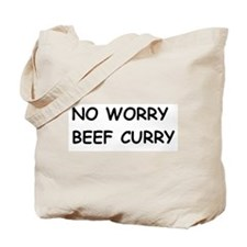 Funny Worry Tote Bag