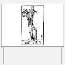 The Hermit Tarot Card Yard Sign