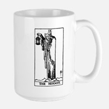 The Hermit Tarot Card Mug