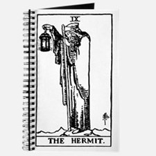 The Hermit Tarot Card Journal