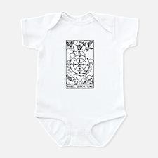 Wheel of Fortune Tarot Card Infant Bodysuit