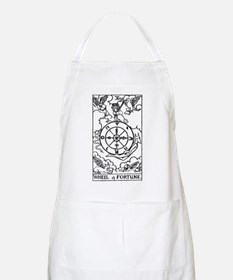 Wheel of Fortune Tarot Card BBQ Apron