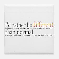 Different - - - Normal Tile Coaster