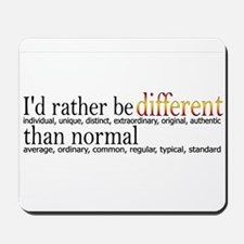 Different - - - Normal Mousepad