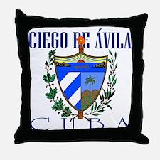 Ciego de Avila Throw Pillow