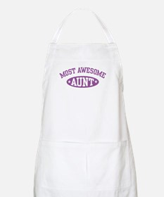 Most Awesome Aunt BBQ Apron
