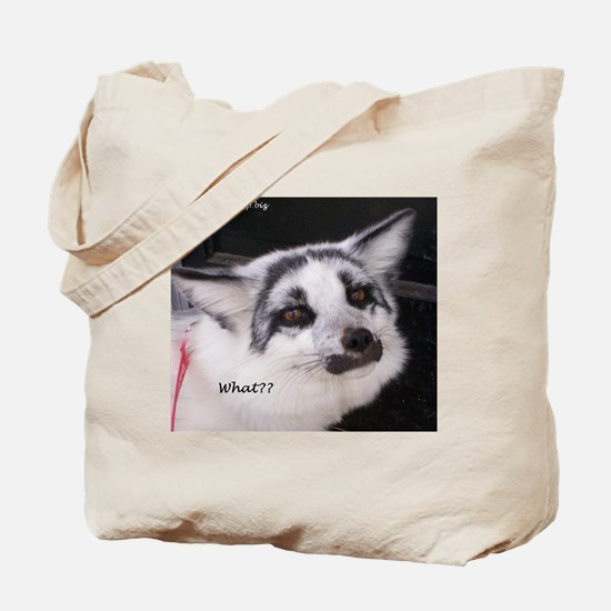 Shadow says What? Tote Bag