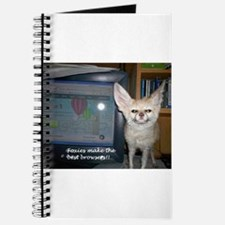 Foxies Make the Bestest Brows Journal