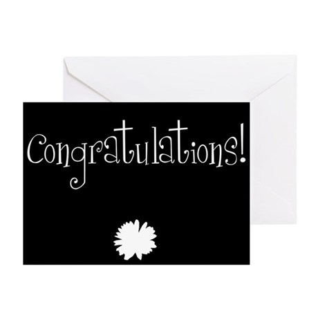 Congratulations! Greeting Cards (Pk of 20)