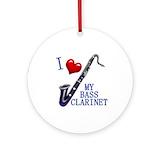 Bass clarinet Round Ornaments