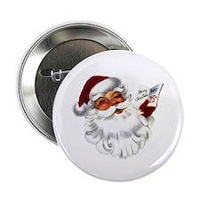 """Santa Claus 2.25"""" Button (100 pack)"""