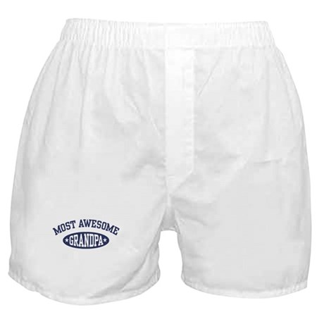 Most Awesome Grandpa Boxer Shorts