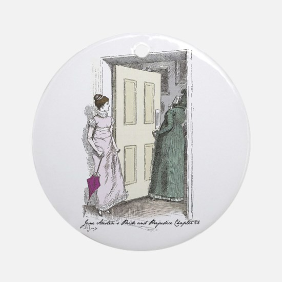 Pride an Prejudice Chapter 56 Ornament (Round)