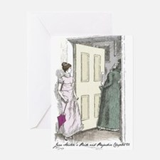 Pride an Prejudice Chapter 56 Greeting Card