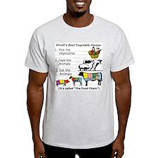 Recipe T-Shirt (choice of 3 colors)