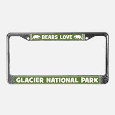 Bears Love Glacier National Park License Frame