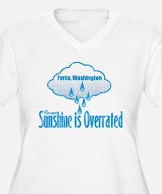 Sunshine is Overrated in Forks T-Shirt