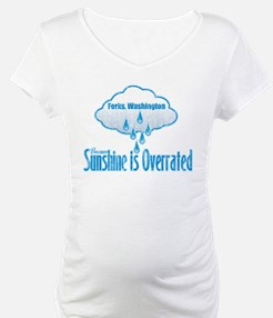 Sunshine is Overrated in Forks Shirt