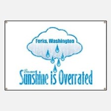 Sunshine is Overrated in Forks Banner