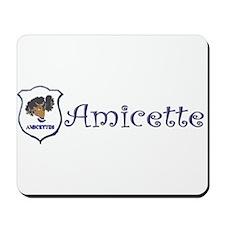 Amicette Curls Mousepad